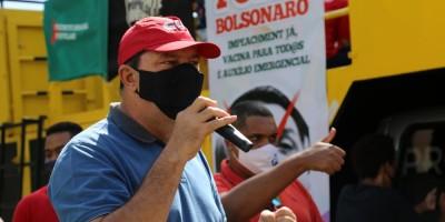 Imagem em Carreata FORA BOLSONARO
