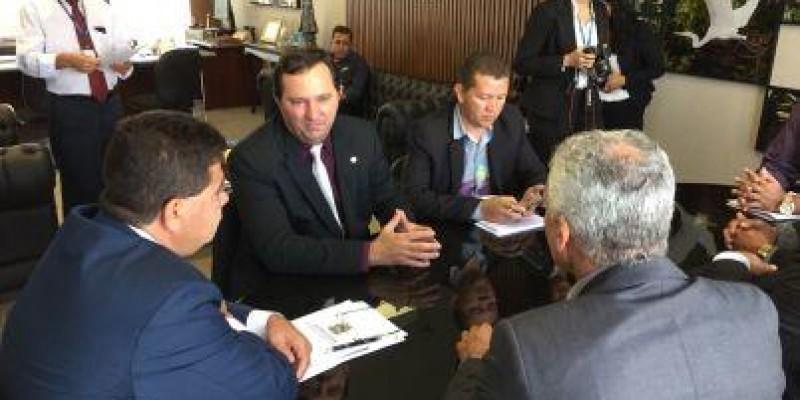 Barranco cumpre agendas no Incra e no Congresso Nacional