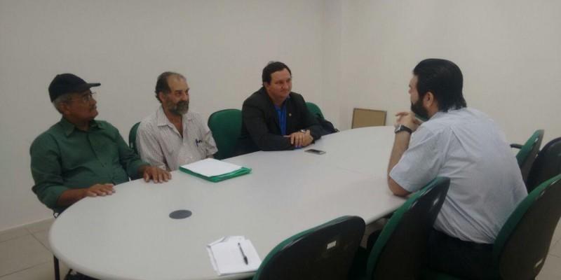 Barranco protocola pedido na AGU para adjudicação de terras no Nortão