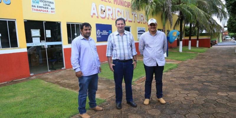 Barranco recebe título de Cidadão Tabaporaense