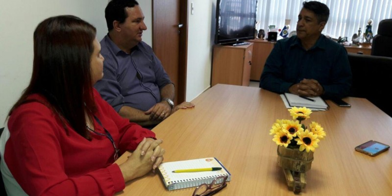 Valdir Barranco visita o IFMT em busca de cursos técnicos para o interior do estado