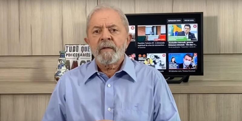 Lula: Contra coronavírus, país precisa de governo, mas não tem