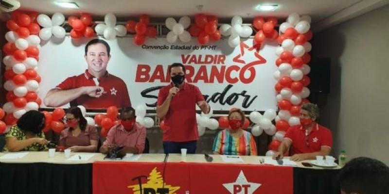 Convenção confirma Barranco candidato ao Senado