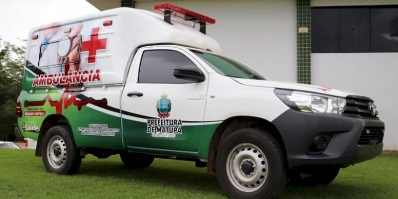 Emenda parlamentar garante ambulância para as Glebas União e Padovani, de Matupá