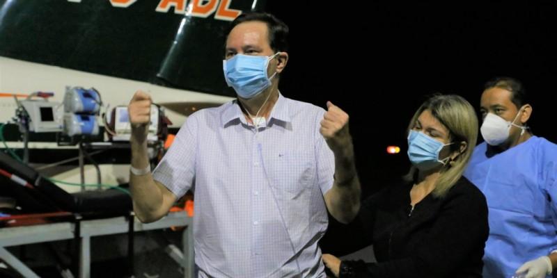 Com muita força, gratidão e esperança, deputado estadual Valdir Barranco (PT) retornou à Cuiabá nesta quinta-feira (05)