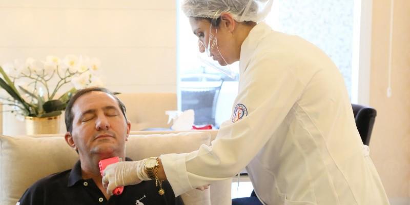 Deputado Barranco completa 2 meses de tratamento de recuperação da Covid-19