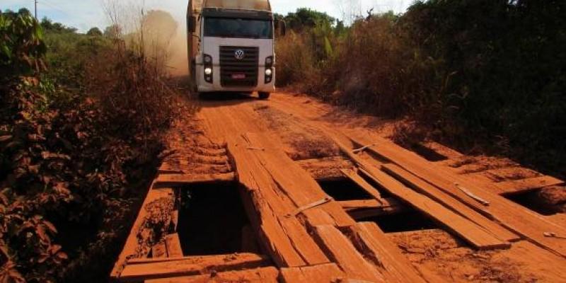 Deputado pede urgência em construção de novas pontes e recuperação da MT-322