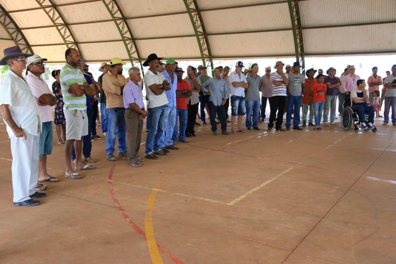 Deputado entrega georreferenciamento do P.A Santo Antônio da Fortuna