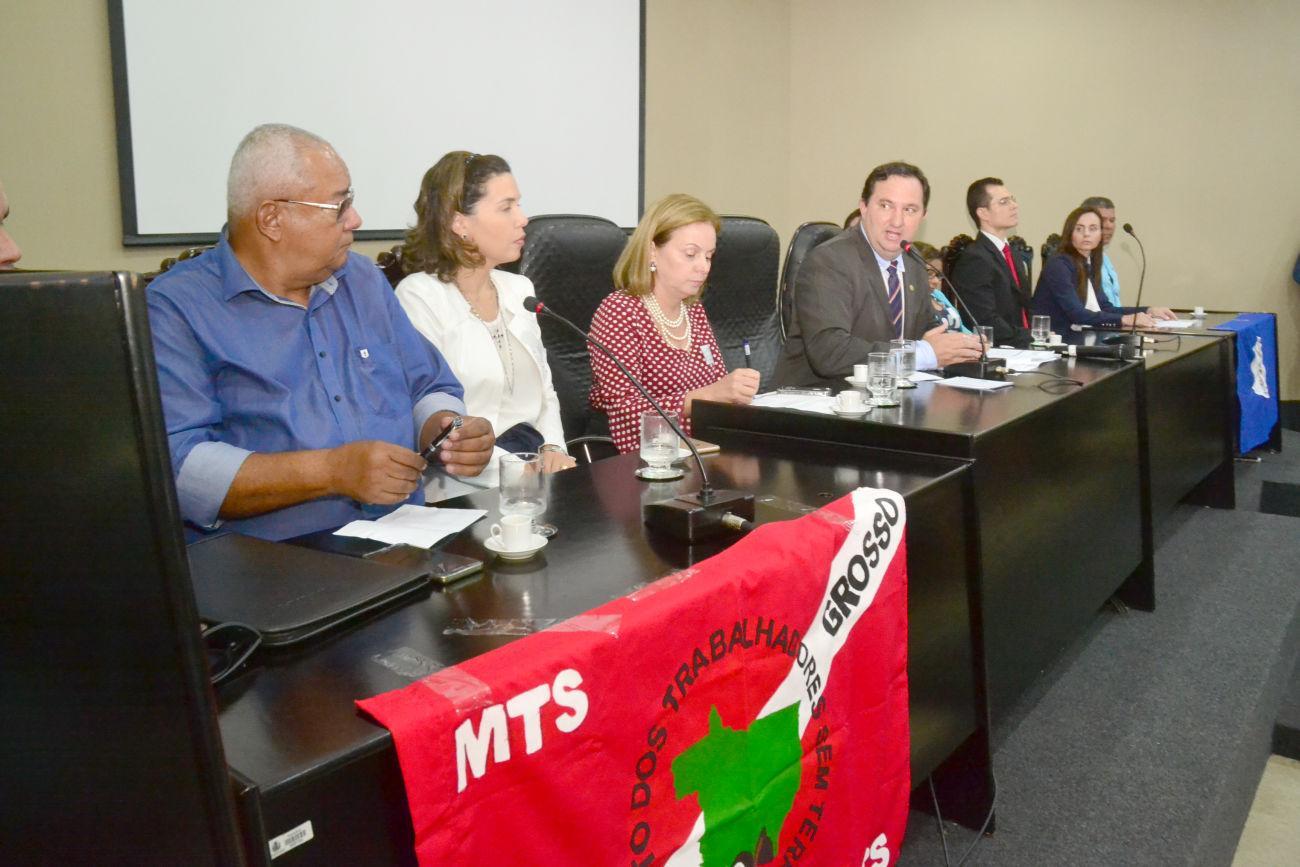Mediar conflitos agrários e fundiários é objetivo de câmara setorial instalada na ALMT