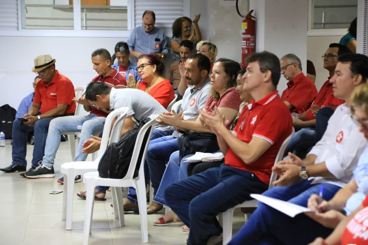 Valdir Barranco toma posse como presidente estadual do Partido dos Trabalhadores