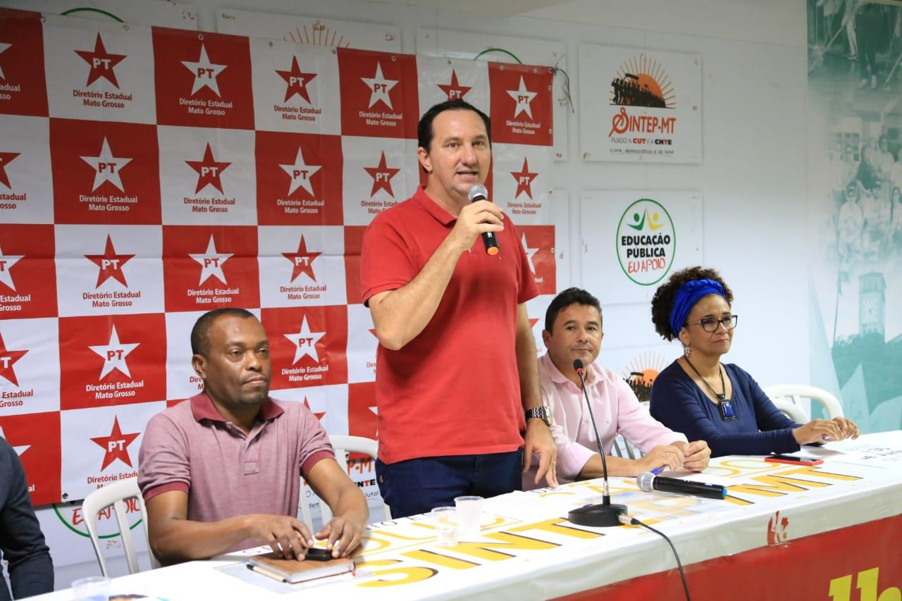 Valdir Barranco toma posse como presidente estadual do PT