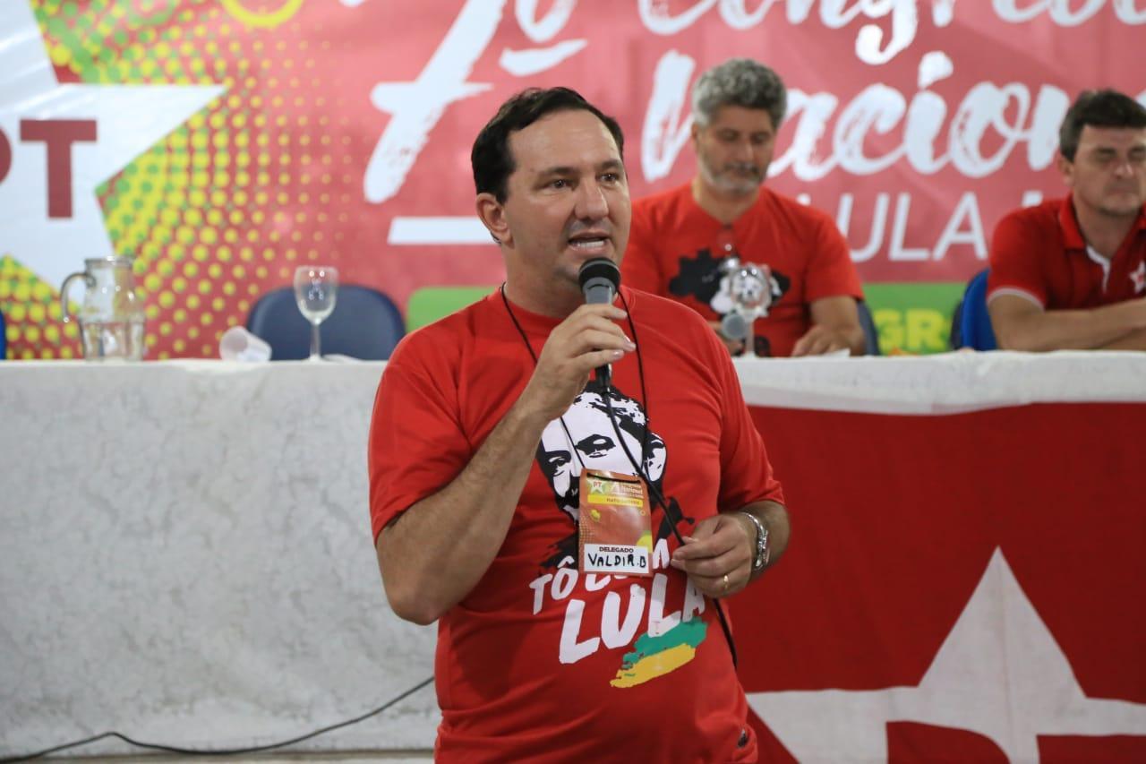 Valdir Barranco pode ser o candidato do PT ao Senado