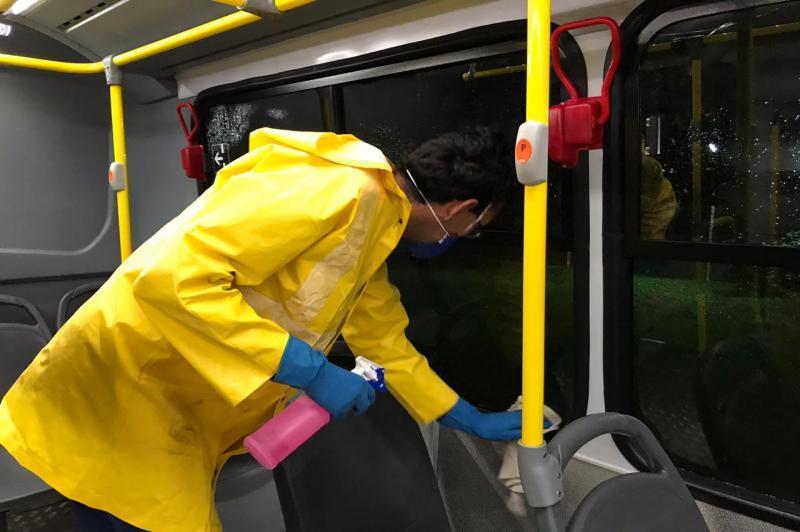 Sancionada lei que obriga concessionárias de transporte à desinfecção de veículos