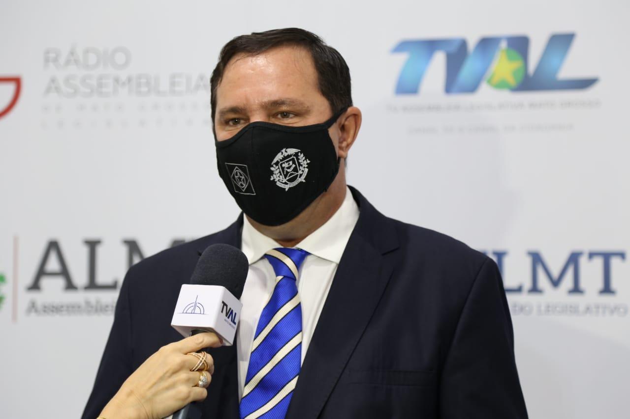"""""""Governo Mauro Mendes é muito egocêntrico e egoísta"""", disse Barranco durante primeira sessão do ano"""