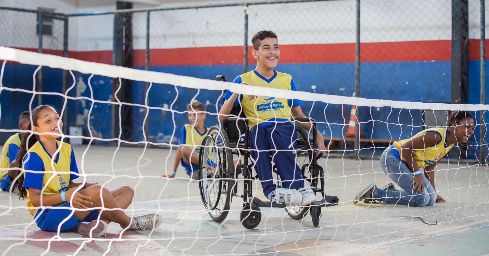 Programa de educação física adaptada para alunos com deficiência pode ser criada em escolas de Mato Grosso